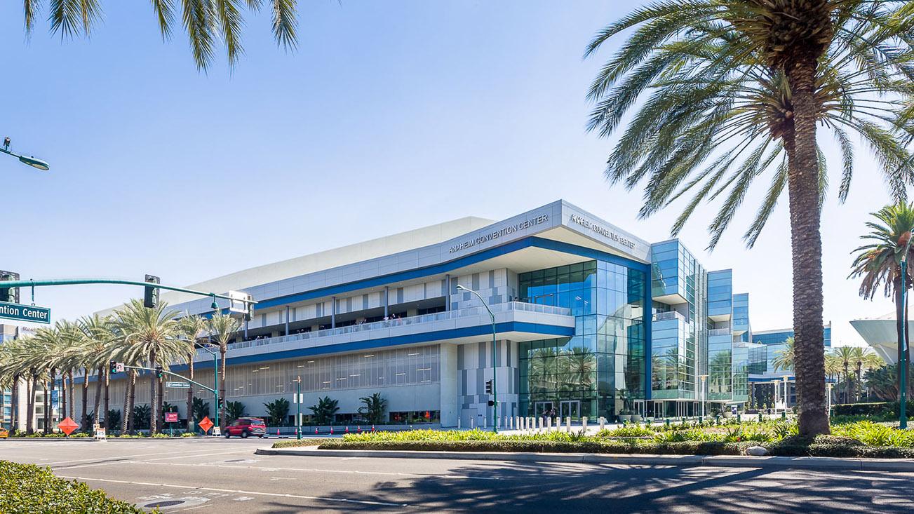 Anaheim Convention Center Exterior