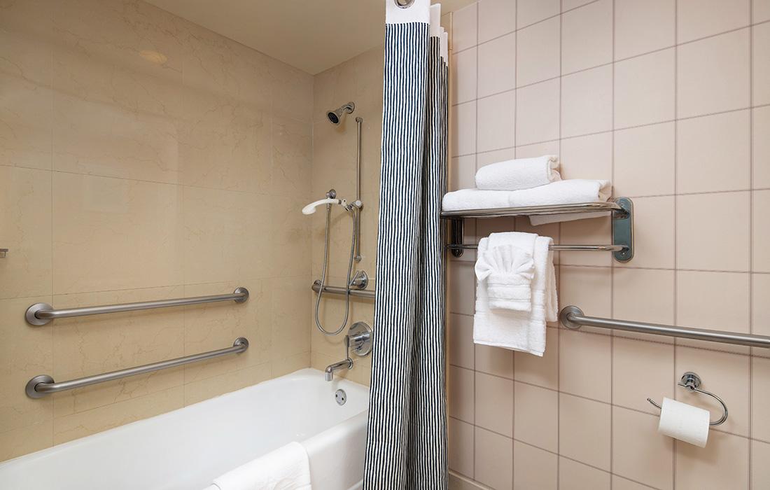 ADA Bathroom at Hotel Lulu Anaheim